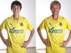 El Villarreal anunció a Moi Gómez ¡con la app que te hace más viejo!. VillarrealCF