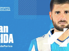 Former Arsenal youngster Fran Merida has joined Espanyol. Twitter/RCDEspanyol