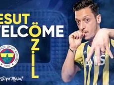 Özil signs for Fenerbahçe. Screenshot/Fenerbahçe