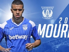 El Leganés ejecuta la opción de compra de Aymane Mourid. Twitter/CDLeganés
