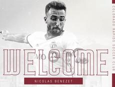 El Colorado Rapids incorpora a Nicolas Benezet. ColoradoRapids