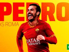 Pedro Rodríguez, nuevo jugador de la Roma. Capturas/ASRoma