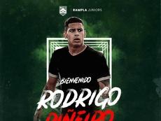 Rampla Juniors incorpora a Rodrigo Piñeiro. RamplaJuniors