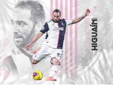 Higuaín assina pelo Inter Miami. Captura/TwitterInterMiami