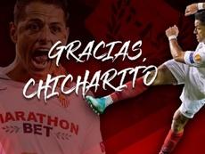 Chicharito ha firmato per i LA Galaxy. Twitter/Sevilla