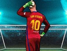 Ter Stegen, el Messi con guantes. ProFootballDB