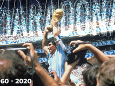 La despedida de Diego Maradona, en directo. BeSoccer