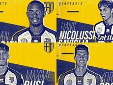 Cyprien, Caviglia, Osoria e Busi firmano con il Parma. Parmacalcio