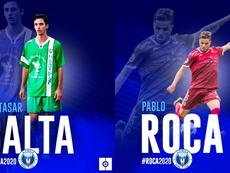 Balta y Pablo Roca, nuevos fichajes de El Palo. ElPaloFC