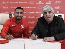 Independiente ha sido denunciado por el fichaje de Cristian Chávez. Twitter/Independiente