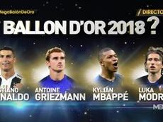 Cerimonia del Pallone d'Oro. FranceFootball