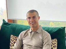 Cristiano, baja para la Champions. Captura/Instagram/Cristiano