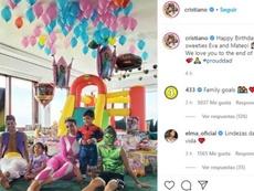 CR7 se transformou em Aladdin em festa de aniversário. Instagram/cristiano