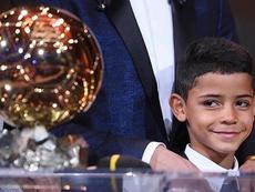 Un millions d'abonnés d'entrée pour le fils de Cristiano sur Instagram. Instagram