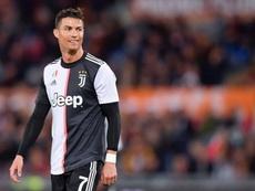 Cristiano Ronaldo volta a campo neste sábado. JuventusFC