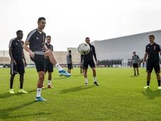 Sarri recupera Cristiano, De Ligt e Bernardeschi. Twitter/JuventusFC