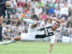 CR7 ya ilusiona a la Juventus. EFE