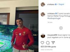 Ronaldo manda un messaggio al Portogallo. Instagram/Cristiano