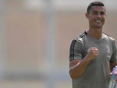 Cristiano volvió a marcar en un amistoso de entrenamiento. JuventusFC