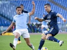 Luiz Felipe tratará de frenar a Haaland ante el Borussia. EFE