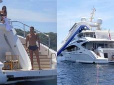 Cristiano Ronaldo hizo alarde de sus vacaciones en Grecia y en la Costa Azul. Instagram/cristiano