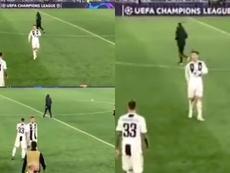Cristiano Ronaldo le reprochó a sus compañeros la falta de valentía. Captura/ASTV
