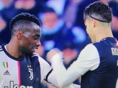 Le beau geste de Cristiano Ronaldo envers Matuidi. AFP