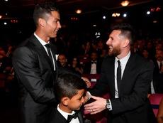 Les nommés pour le Globe Soccer Award du 'Joueur du siècle'. EFE