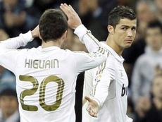 ¿Una dupla Higuaín-Cristiano 2.0? EFE