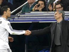 Mourinho é só elogios ao atacante luso. EFE