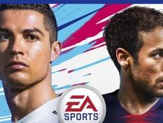 Cristiano y Neymar, imágenes top en el FIFA. EASports