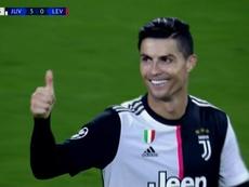 Cristiano enfonce le clou et marque son 127ème but en C1. Capture/ESPN