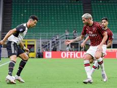 Rabiot et Cristiano n'ont pas suffi pour la Juve. Twitter/JuventusFC