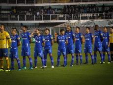 Cruzeiro e Santos se enfrentam pela Copa do Brasil. Twitter @Cruzeiro