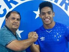 Rafael Souza firmó hasta noviembre de 2022. Cruzeiro