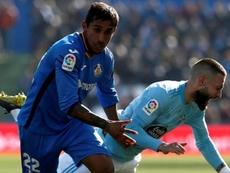 Bordalás récupère Damián Suárez pour le match contre l'Ajax. EFE
