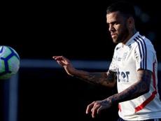 Dani Alves et Juanfran ont effectué leur premier entraînement. SaoPaulo