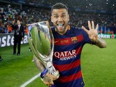 Dani Alves évoque la finale de 2015. FCBarcelona