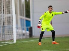 Dani Cárdenas debutó en LaLiga con el Levante. Twitter/LevanteUD