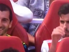 Ceballos se quejó del juego de sus rivales. Captura/AS