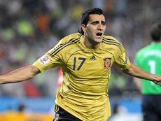 Güiza repasó su carrera y se queda con su paso por la Selección. EFE