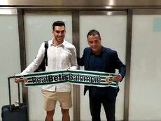 Dani Martín, a punto de reforzar la portería del Betis. Twitter/AFLDP