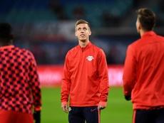 El Bayern le quiso quitar al RB Leipzig a Dani Olmo. RBLeipzig