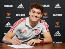 United a souhaité la bienvenue à Daniel James. ManchesterUnited