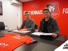 Rugani defenderá los colores del Stade de Rennes esta temporada. StadeRennais