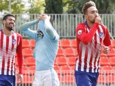 Darío Poveda se rompe el cruzado de la rodilla derecha. ClubAtléticodeMadrid