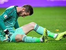 El United pierde a De Gea y Pogba ante el Liverpool. EFE