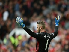 David de Gea is reportedly unhappy at Manchester United. AFP