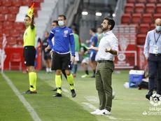 David Gallego ha empezado de forma extraordinaria con el Sporting. LaLiga