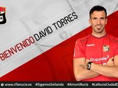 David Torres llega para ascender con La Nucía. Twitter/cfnucia